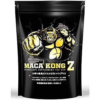 マカコングZ マカ 亜鉛 タウリン サプリ 全10種類 60粒30日分 【栄養機能食品】