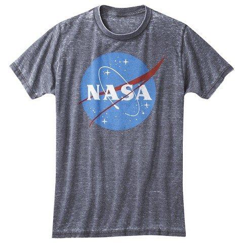 並行輸入品 NASA ロゴ Tシャツ NASA LOGO T-SHIRT M...