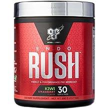 BSN Endorush Strawberry Kiwi Pre Workout, 390 Grams
