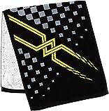(ミズノ)MIZUNO トレーニングウェア 今治タオルシリーズ・染料プリントフェイスタオル [ユニセックス] 32JY6102 94 ブラック×イエロー -