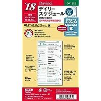 レイメイ藤井 ダヴィンチ 手帳用リフィル 2018年 12月始まり デイリー 聖書 DR1829