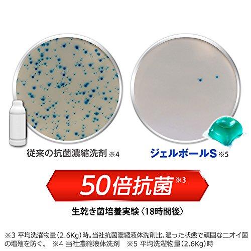 『【ケース販売】 アリエール 洗濯洗剤 液体 パワージェルボール 詰め替え 超お得サイズ 940g (48個入り)×6個』の2枚目の画像
