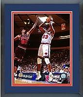 """Patrick Ewing New York Knicks NBAアクション写真(サイズ: 22.5"""" X 26.5CM )フレーム"""