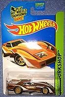 2014 Hot Wheels Super Treasure Hunt 76 Greenwood Corvette