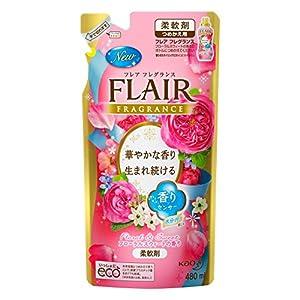 フレアフレグランス 柔軟剤 フローラル&スウィートの香り 詰替用 480ml