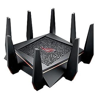 ASUS ゲーミングWi-Fi無線ルーター GT-AC5300 11ac 2167+1000Mbps接続24台/3階建・4LDK 【 PS4™/Wii U™/iPhone対応】
