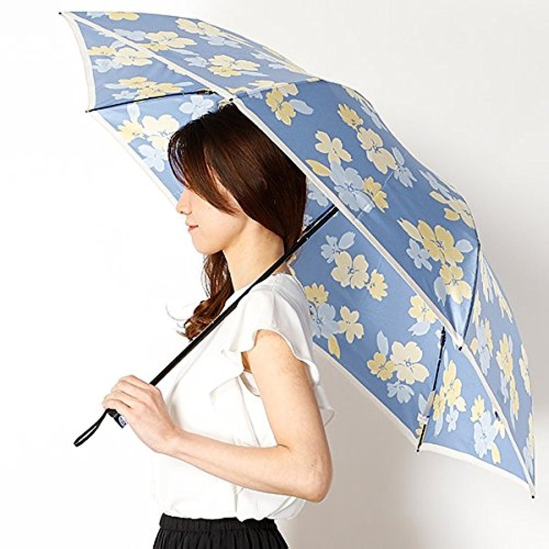 ミラ?ショーン(雑貨)(mila schon) 雨傘(折りたたみ/3段/ミニ傘)【大寸/大きいサイズ/軽量】花柄(婦人/レディース)