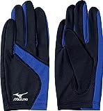 [ミズノ] 手袋 U2JY4503 ブラック×サーフブルー 日本 M-(日本サイズM相当)