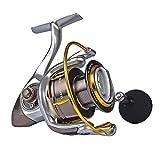 カストキング(KastKing)Kodiakシリーズ スピニングリール 海釣対応 高強度オールアルミボディ-18Kg 3層カーボンドラグシステム、10+1個ステンレス製シールド付ベアリング
