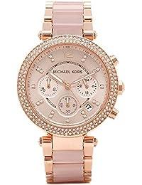 [マイケルコース] 腕時計 レディース MICHAEL KORS MK5896 MK5896622 ピンクゴールド [並行輸入品]