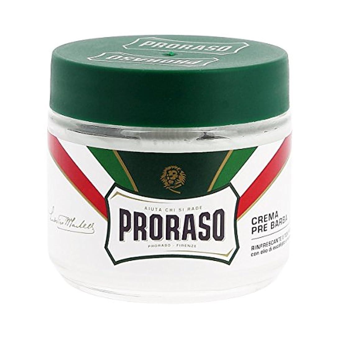 を除くまたはフィクションProraso イタリア プレシェーブクリーム ユーカリ 100ml[海外直送品] [並行輸入品]
