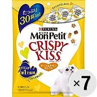 【セット販売】モンプチ クリスピーキッス チーズ&チキンセレクト 90g×7コ