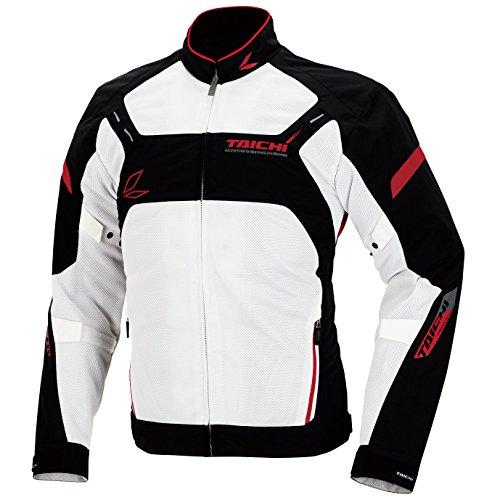 RSタイチ(アールエスタイチ)バイクジャケット ホワイト/レ...
