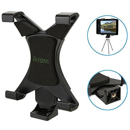iKross 三脚取付用 タブレットホルダー スタンド 7-...