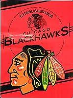 NHL フラシ天 ラッセルスロースタンプ 60 x 80インチ 60 x 80-Inch ブラック