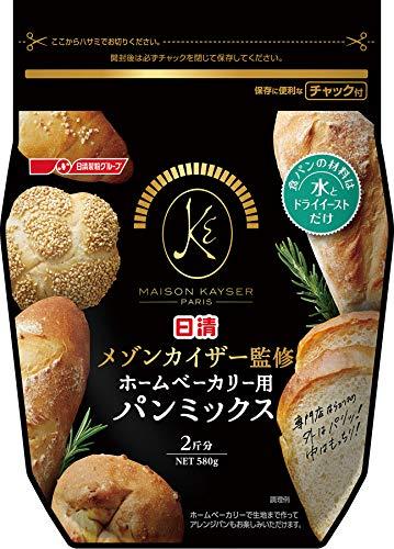 日清フーズ 日清 メゾンカイザー監修 ホームベーカリー用パンミックス 1セット(3個)