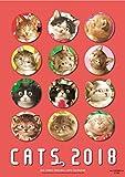 2018年 ビッグコミックオリジナル 村松誠 猫カレンダー (2018カレンダー)