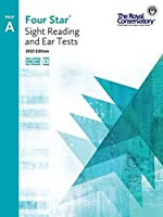 4S0A - Royal Conservatory Four Star Sight Reading and Ear Tests Level Prep A Book 2015 Edition [並行輸入品]