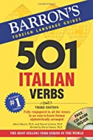 501 Italian Verbs (Barrons Foreign Language Guides)