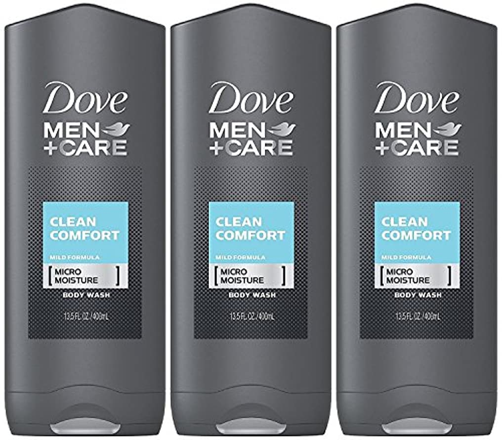 無心旅行代理店電気的Dove Men Plus Care Body and Face Wash Clean Comfort , 13.5 Oz by Dove