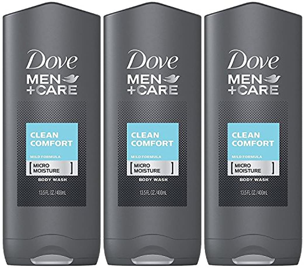 影のあるダイエット修正するDove Men Plus Care Body and Face Wash Clean Comfort , 13.5 Oz by Dove