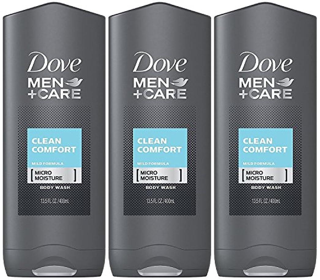 ミニ荒らす簡単なDove Men Plus Care Body and Face Wash Clean Comfort , 13.5 Oz by Dove