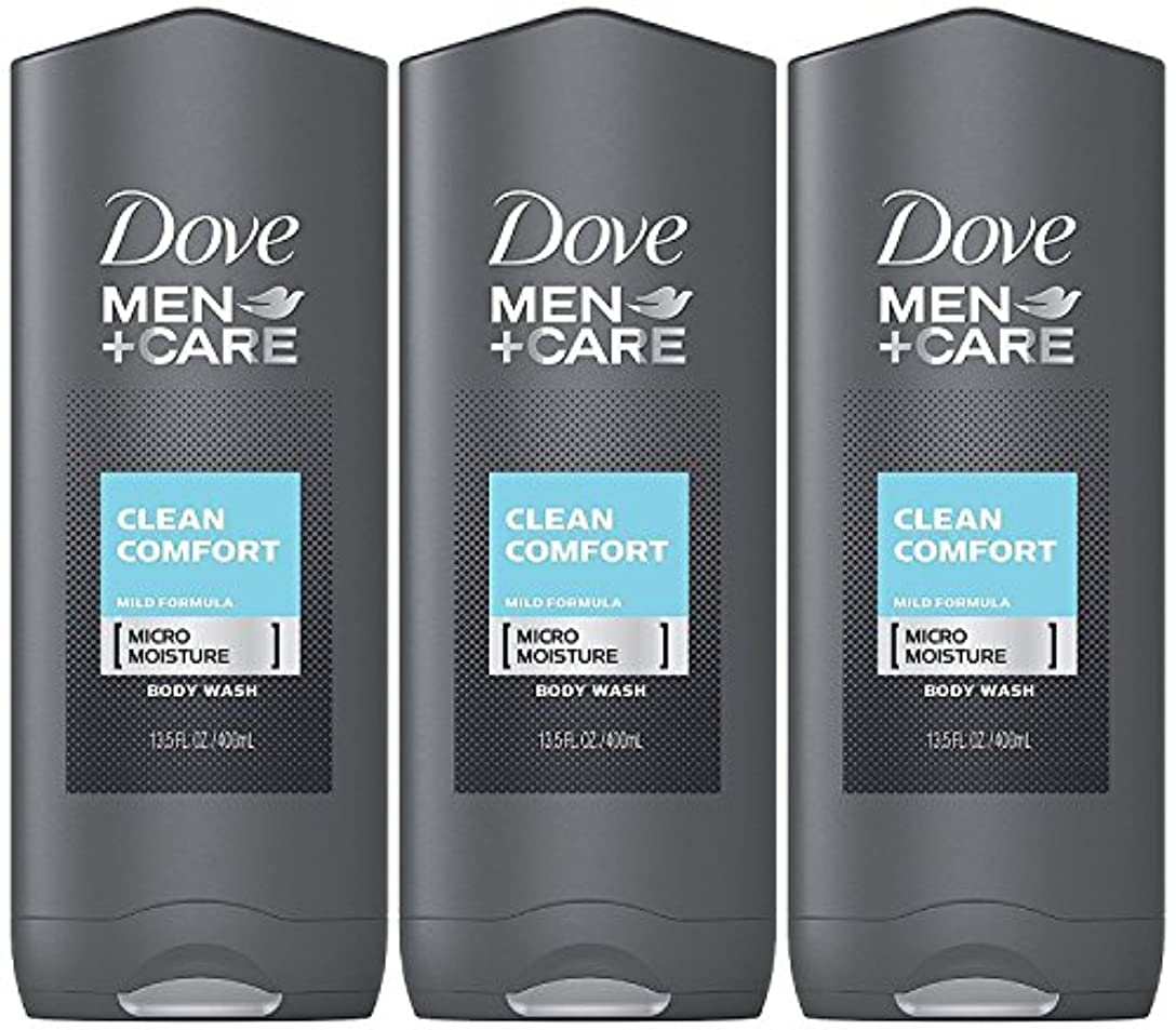 宿題ホイストヘッドレスDove Men Plus Care Body and Face Wash Clean Comfort , 13.5 Oz by Dove