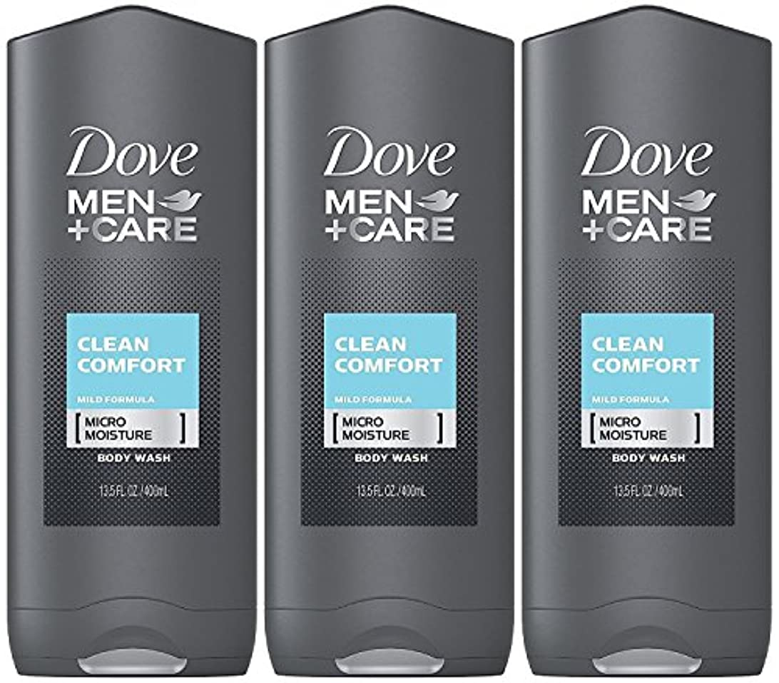 西私たちの一致Dove Men Plus Care Body and Face Wash Clean Comfort , 13.5 Oz by Dove