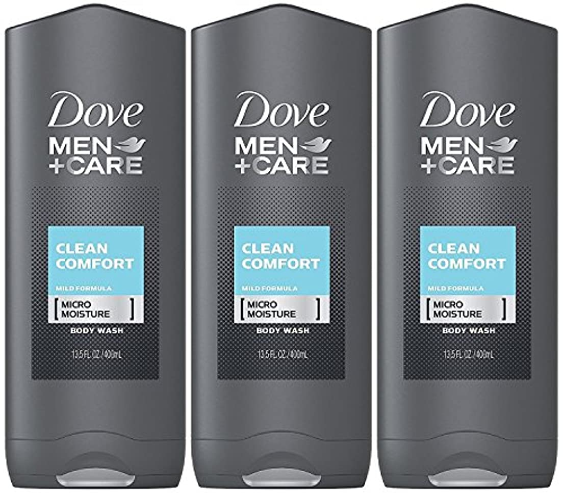 硬さ非難するトンネルDove Men Plus Care Body and Face Wash Clean Comfort , 13.5 Oz by Dove