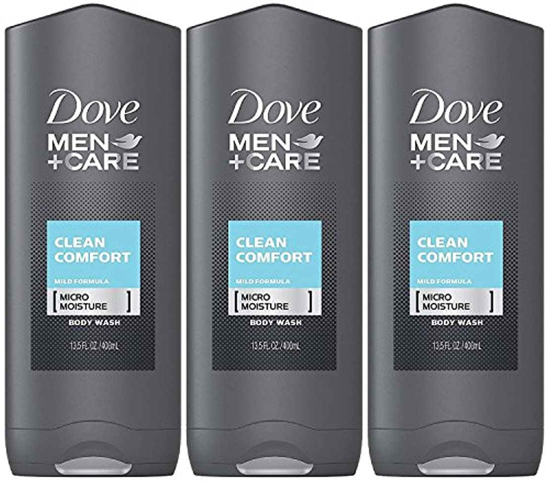 逆さまに書店シャープDove Men Plus Care Body and Face Wash Clean Comfort , 13.5 Oz by Dove