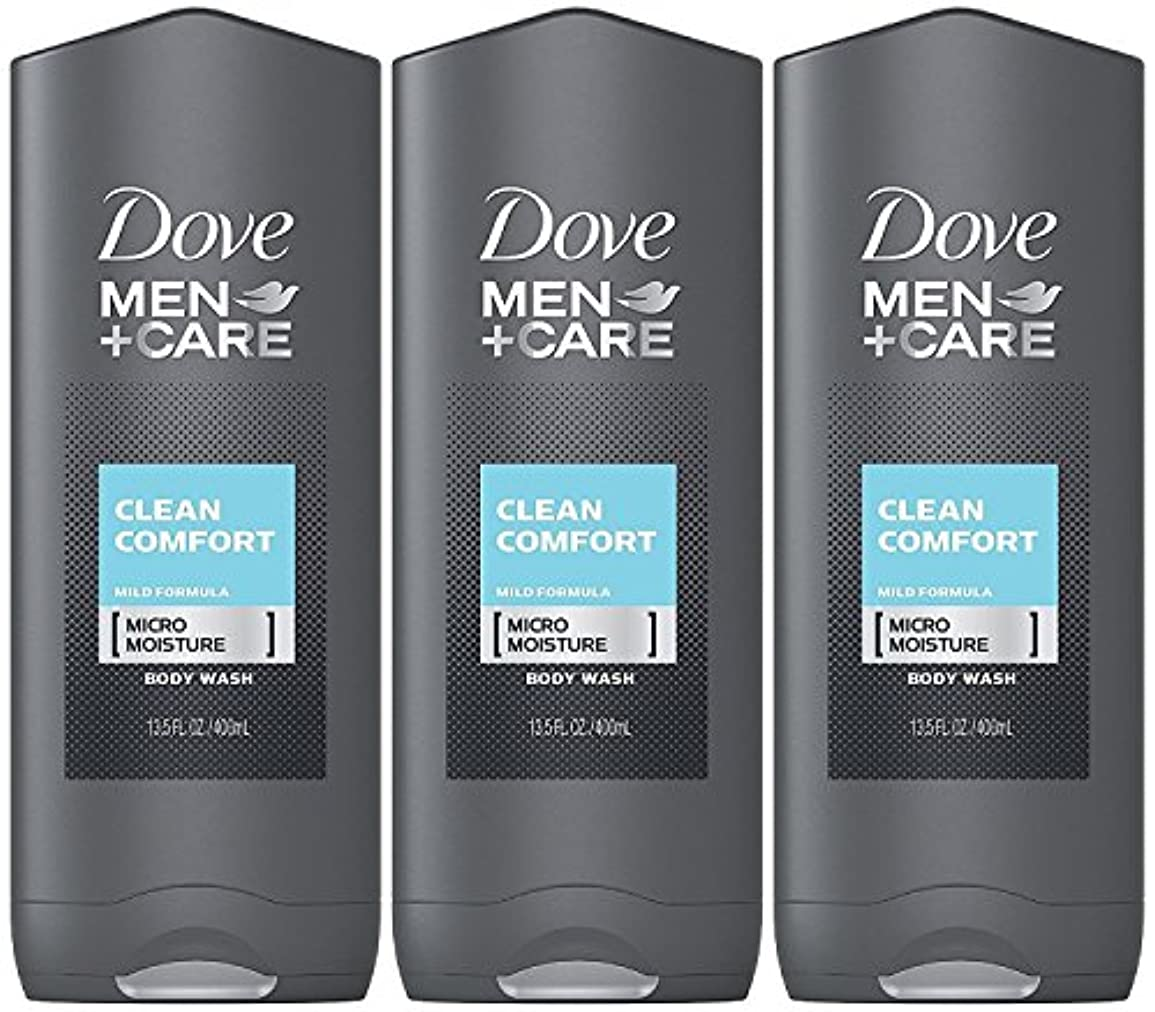 密接に五月合図Dove Men Plus Care Body and Face Wash Clean Comfort , 13.5 Oz by Dove