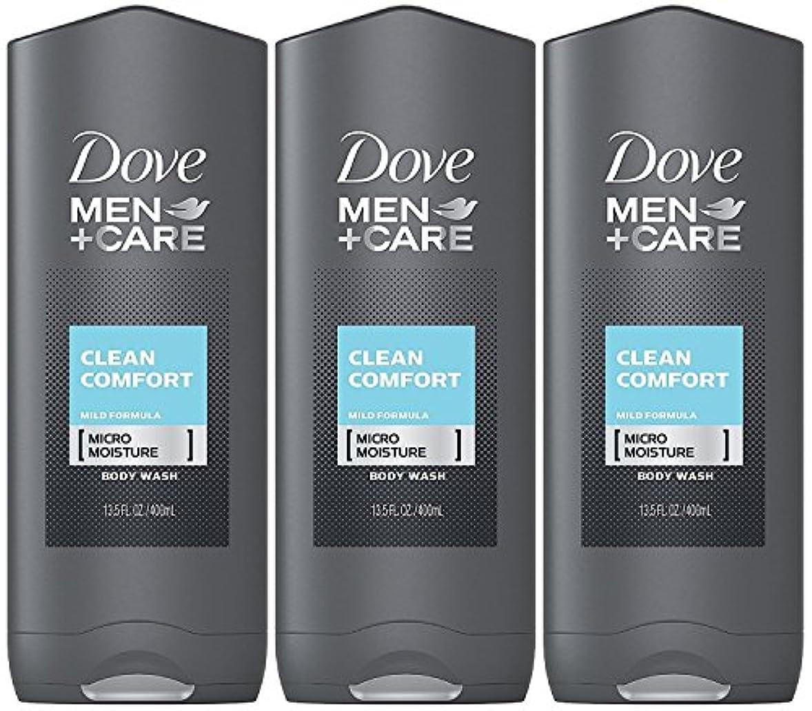 白雪姫無人正当化するDove Men Plus Care Body and Face Wash Clean Comfort , 13.5 Oz by Dove