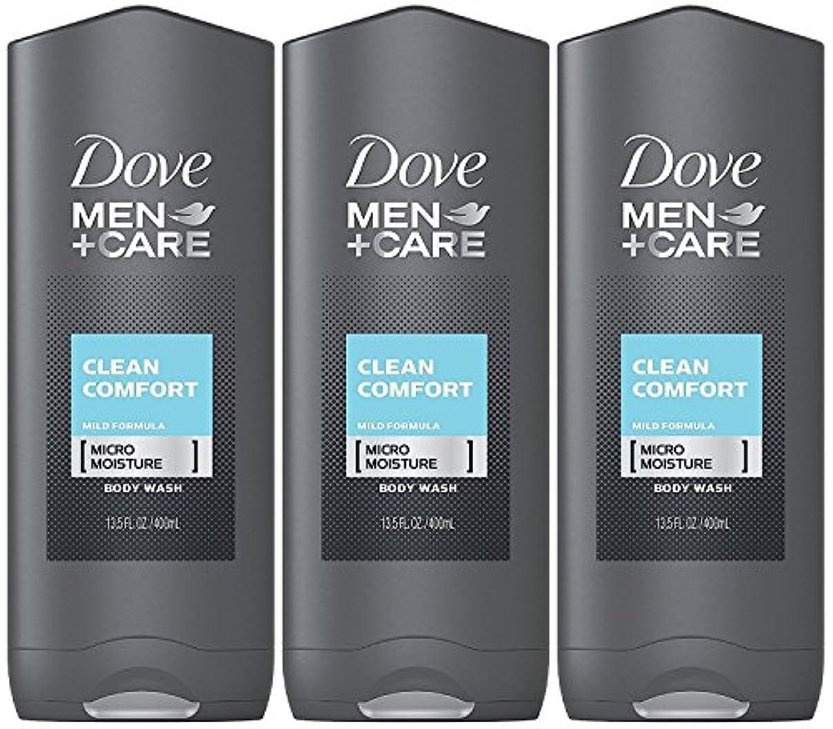 傾向がありますリークオピエートDove Men Plus Care Body and Face Wash Clean Comfort , 13.5 Oz by Dove