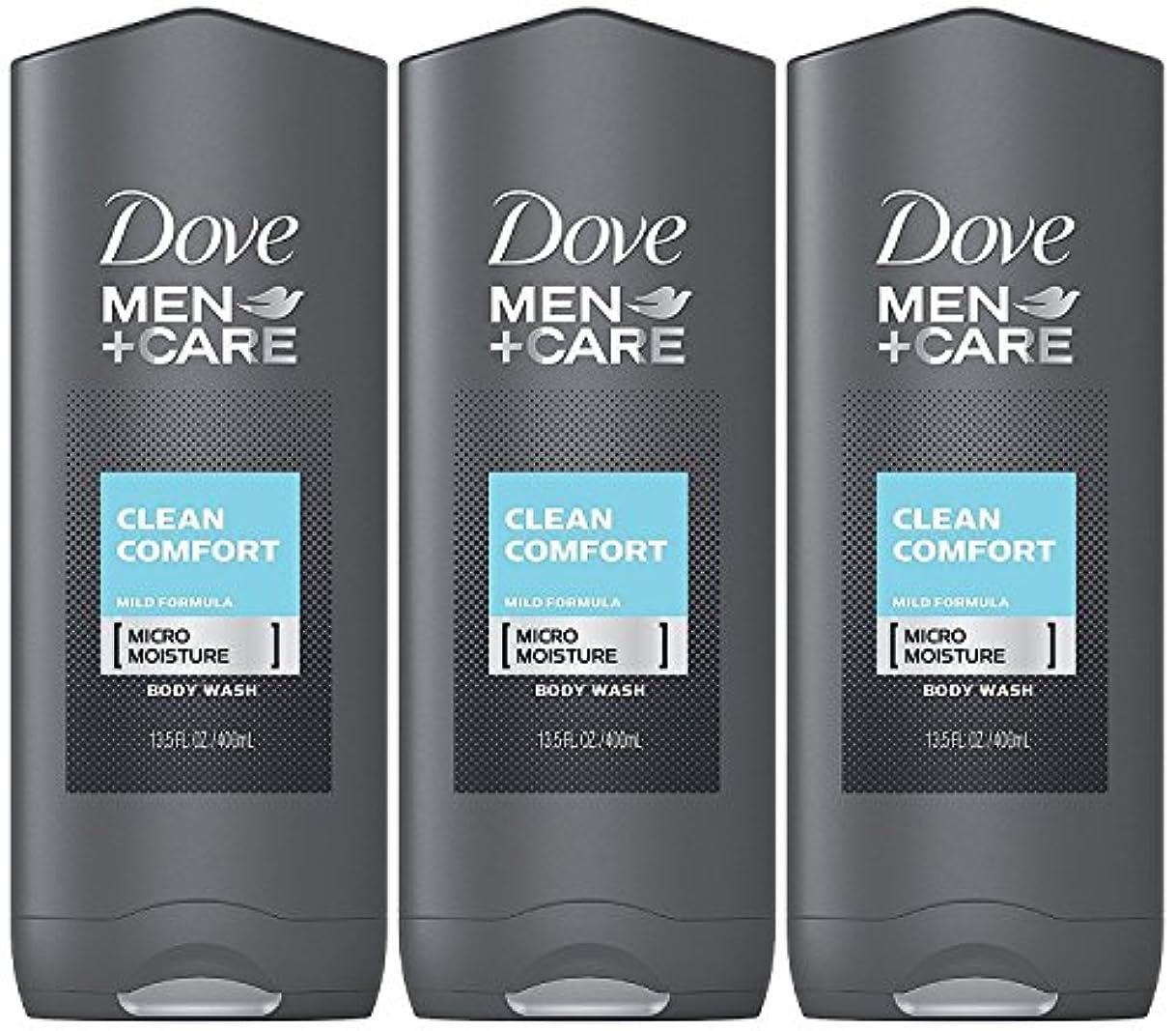 レッスン受信機ポールDove Men Plus Care Body and Face Wash Clean Comfort , 13.5 Oz by Dove