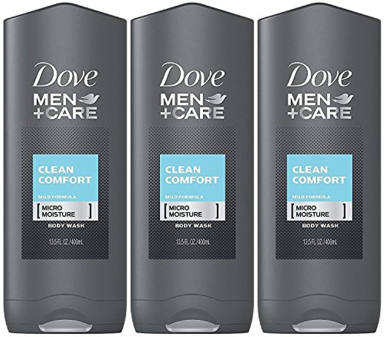 熟練したビジネス規定Dove Men Plus Care Body and Face Wash Clean Comfort , 13.5 Oz by Dove