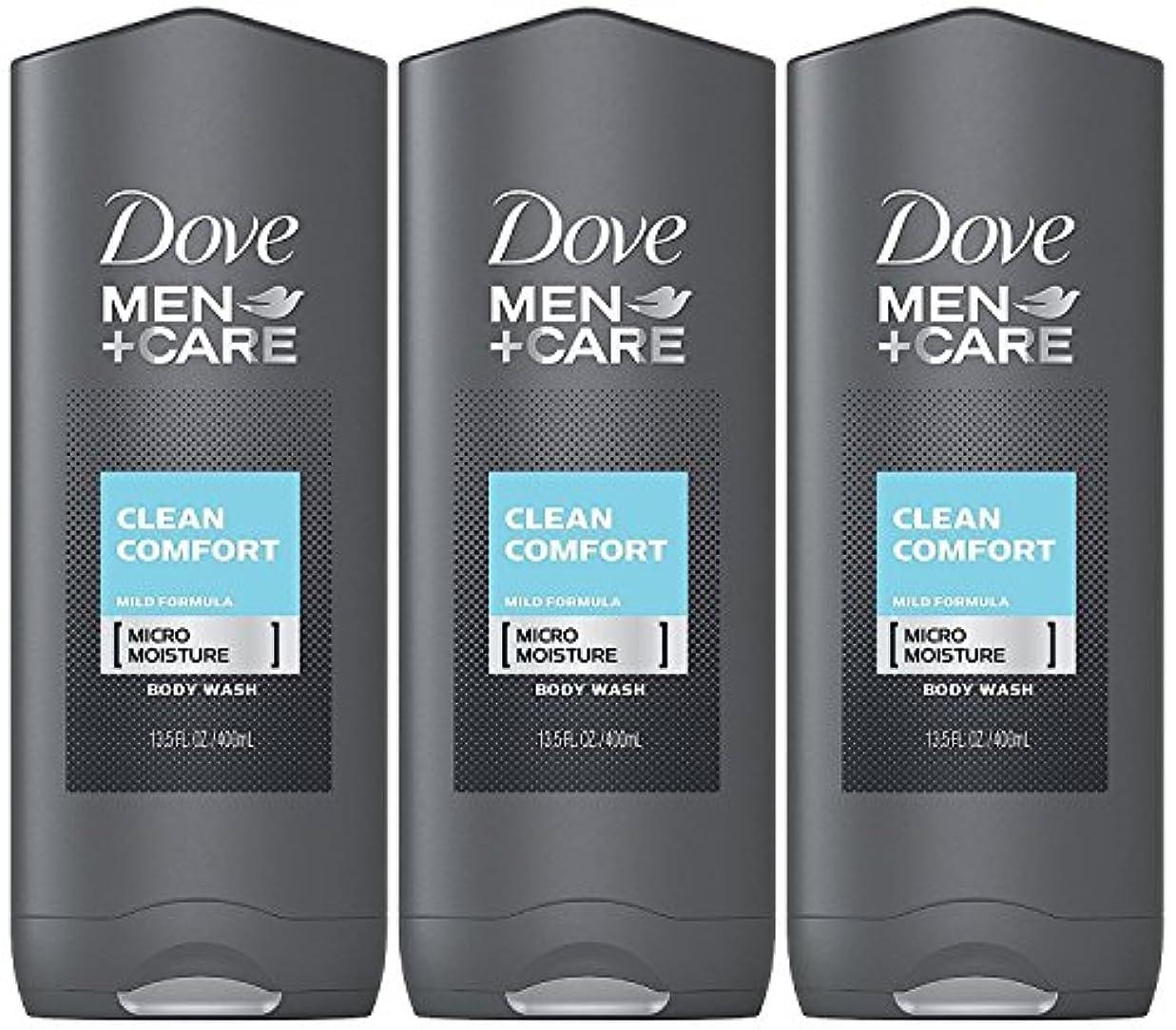 代表食物貢献するDove Men Plus Care Body and Face Wash Clean Comfort , 13.5 Oz by Dove
