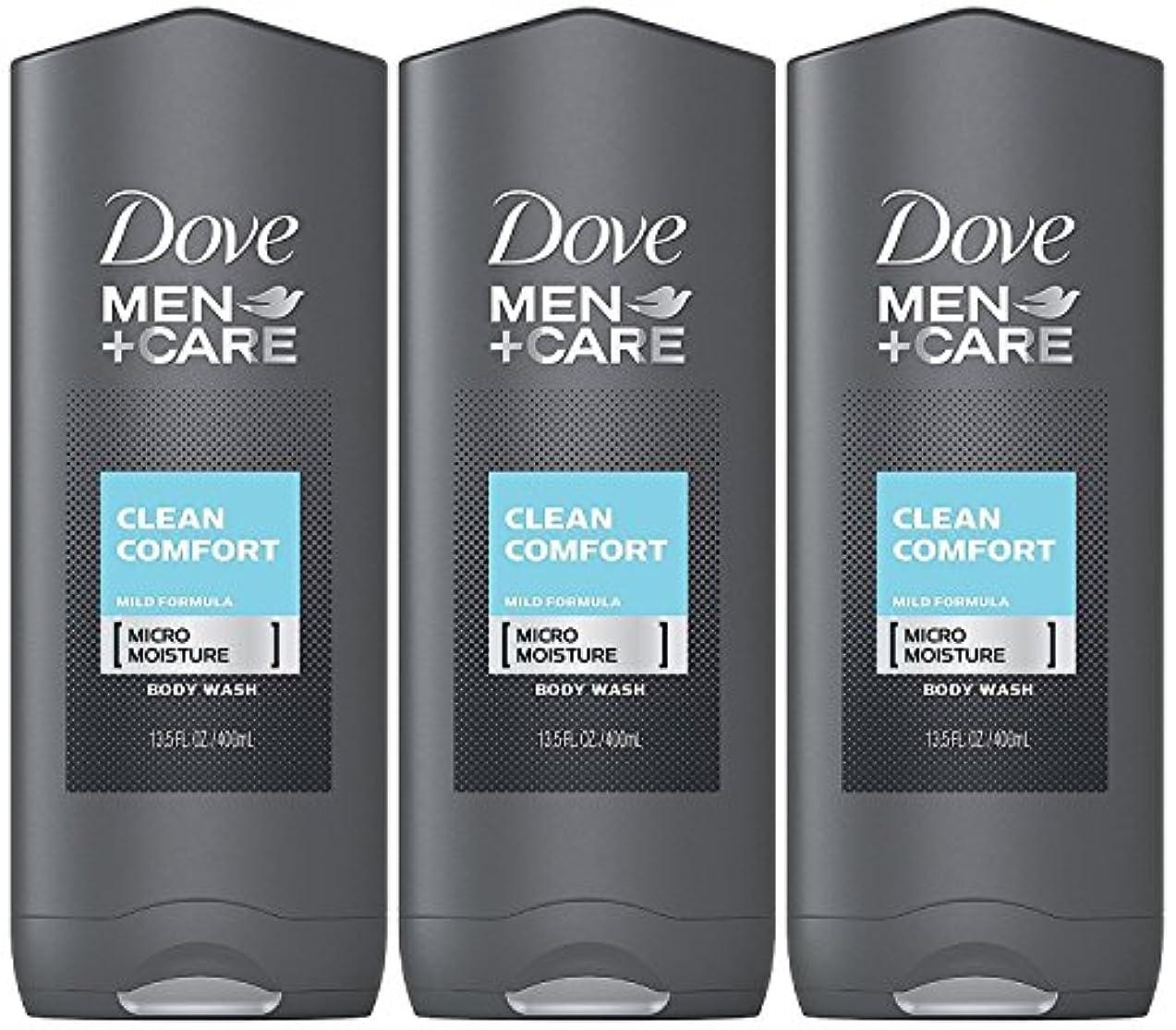 人に関する限りピクニック水素Dove Men Plus Care Body and Face Wash Clean Comfort , 13.5 Oz by Dove