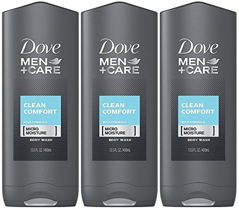 不利ペンフレンドかろうじてDove Men Plus Care Body and Face Wash Clean Comfort , 13.5 Oz by Dove