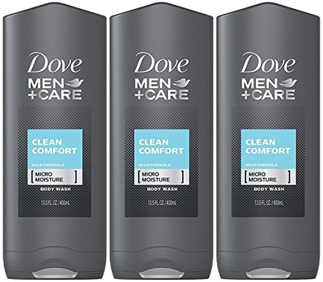 重力しがみつくピーブDove Men Plus Care Body and Face Wash Clean Comfort , 13.5 Oz by Dove