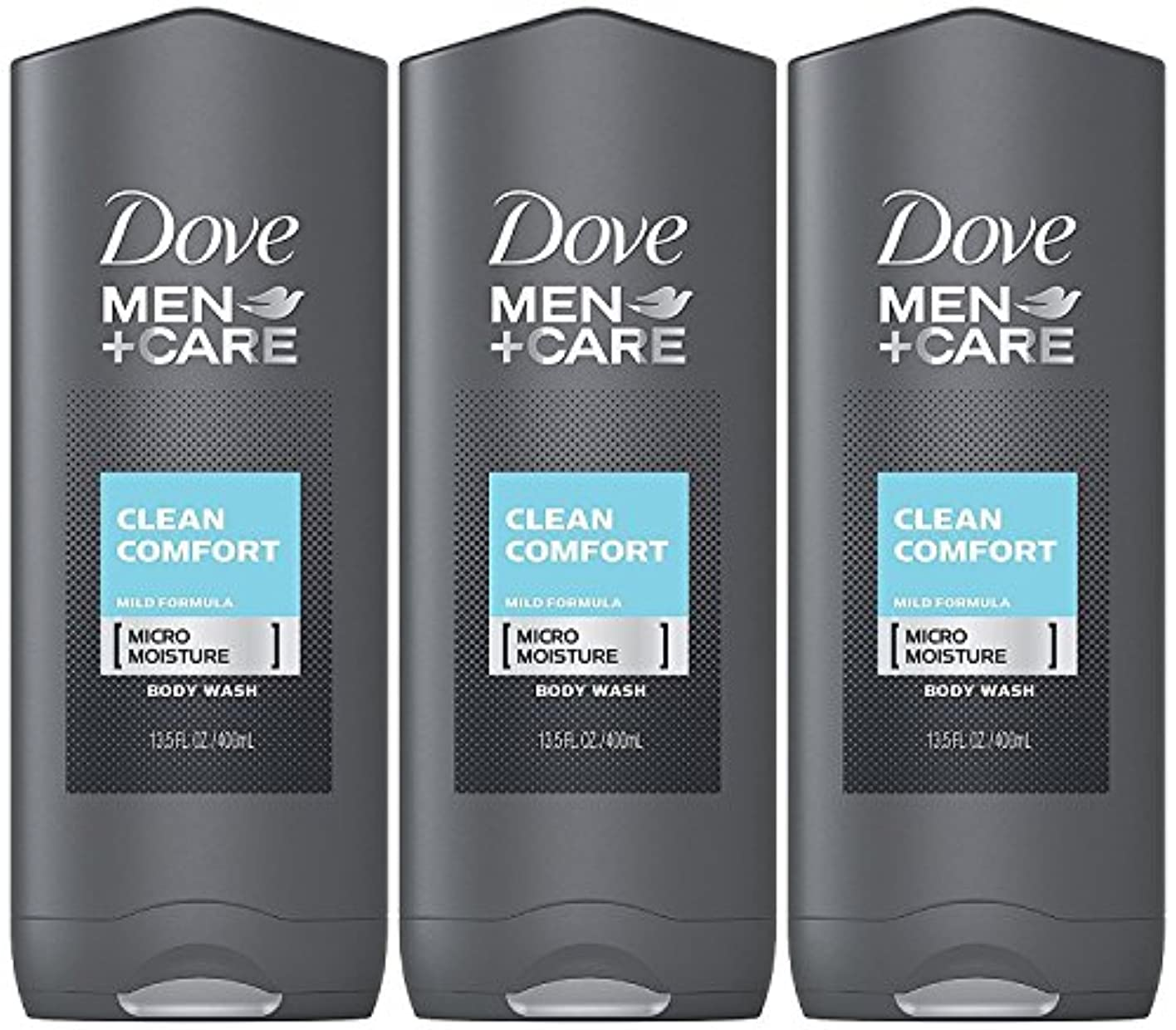 積極的にコア全体Dove Men Plus Care Body and Face Wash Clean Comfort , 13.5 Oz by Dove