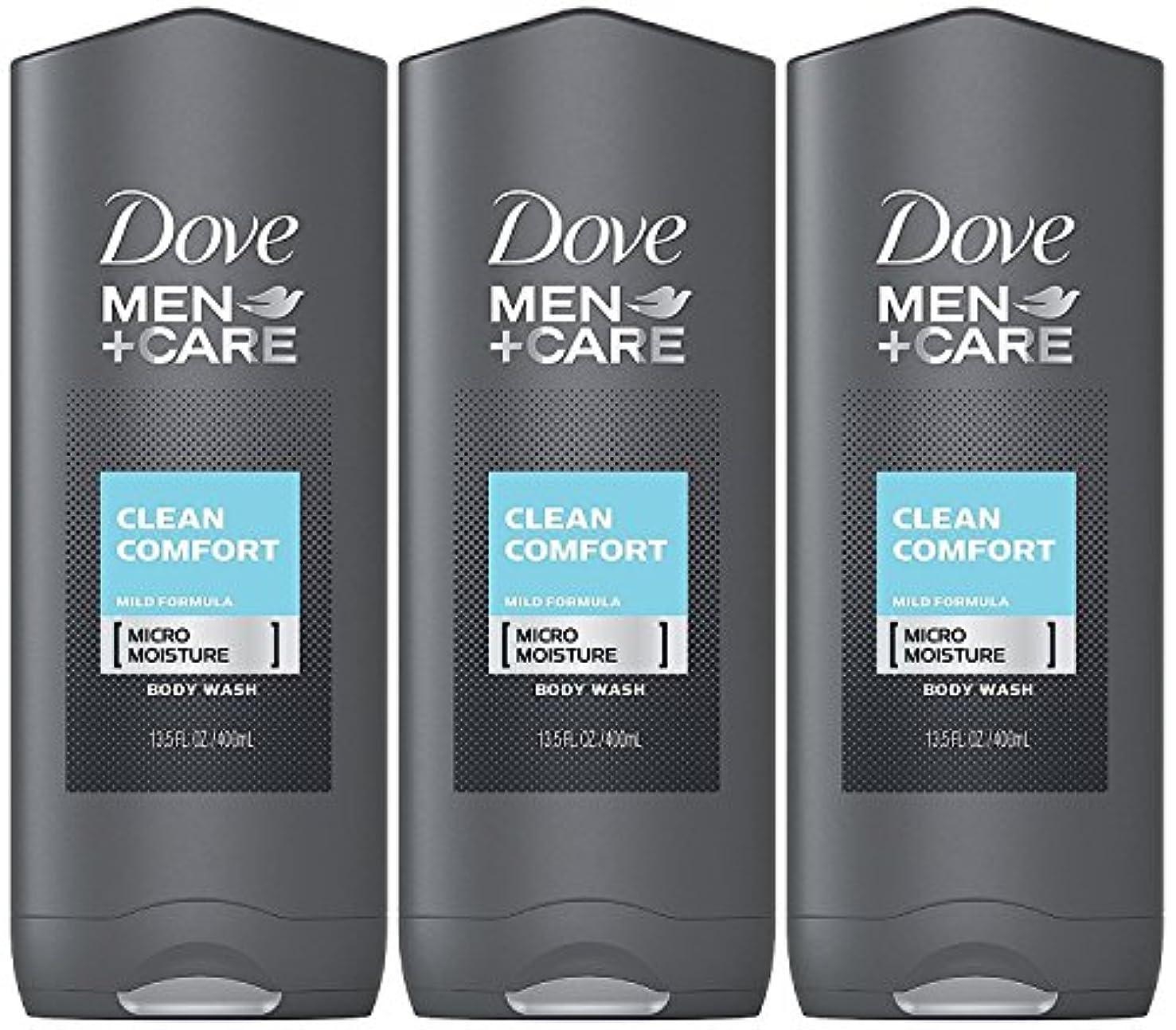 スカーフ七面鳥スキニーDove Men Plus Care Body and Face Wash Clean Comfort , 13.5 Oz by Dove