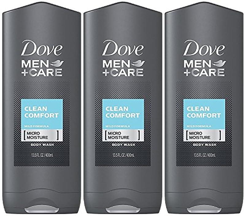 彫る義務肯定的Dove Men Plus Care Body and Face Wash Clean Comfort , 13.5 Oz by Dove