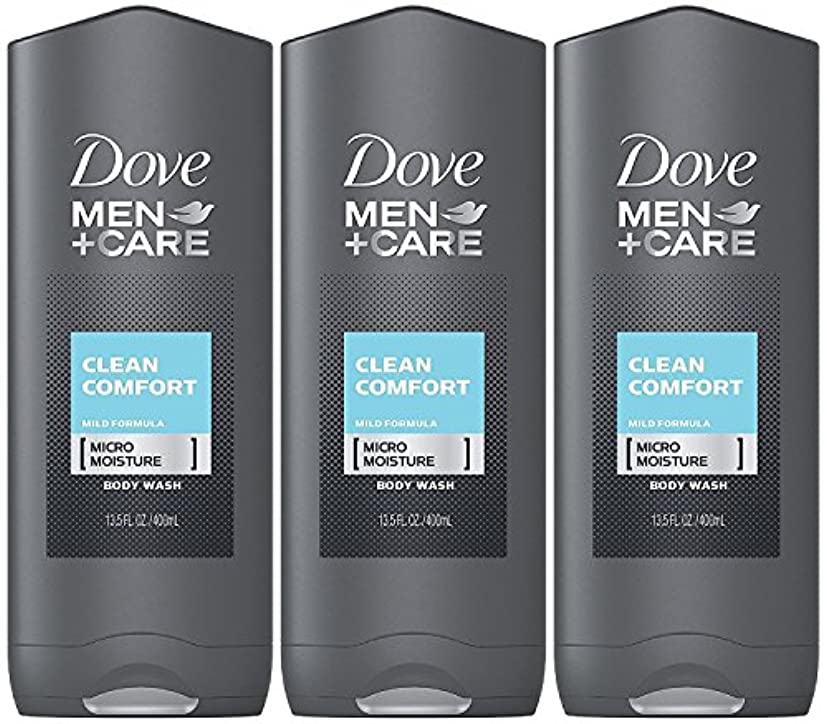 哲学今日既にDove Men Plus Care Body and Face Wash Clean Comfort , 13.5 Oz by Dove