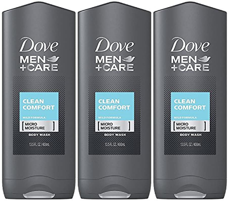 謎めいた眉をひそめる実験Dove Men Plus Care Body and Face Wash Clean Comfort , 13.5 Oz by Dove