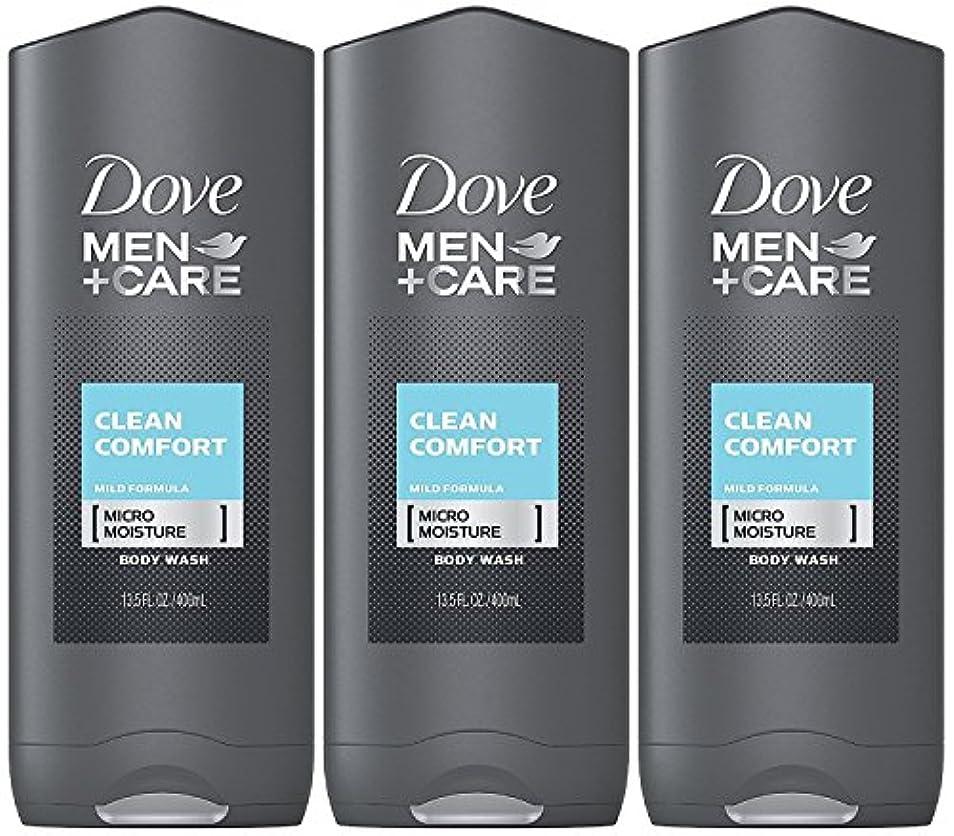 聴覚障害者考慮決定的Dove Men Plus Care Body and Face Wash Clean Comfort , 13.5 Oz by Dove