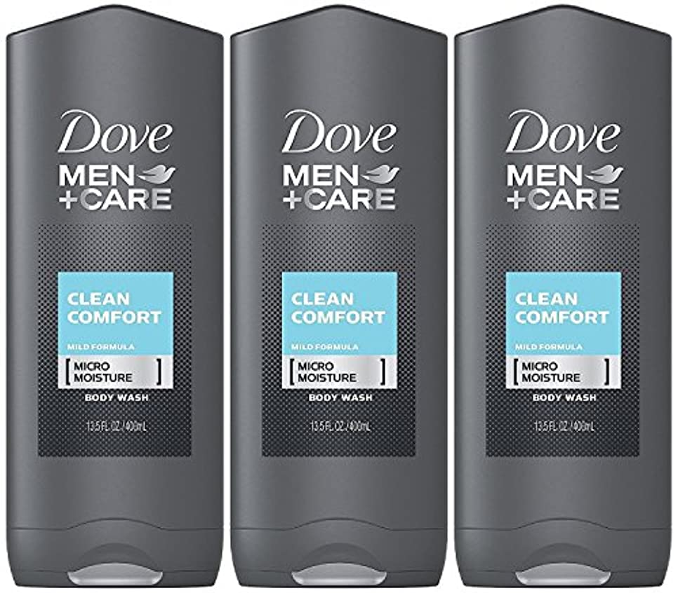 避けるすごいホームレスDove Men Plus Care Body and Face Wash Clean Comfort , 13.5 Oz by Dove