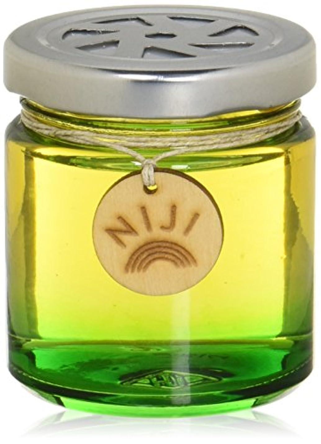 領収書タイト明日NIJI(ニジ) フレグランスゲル(芳香剤) グリーンフラッシュ 90g