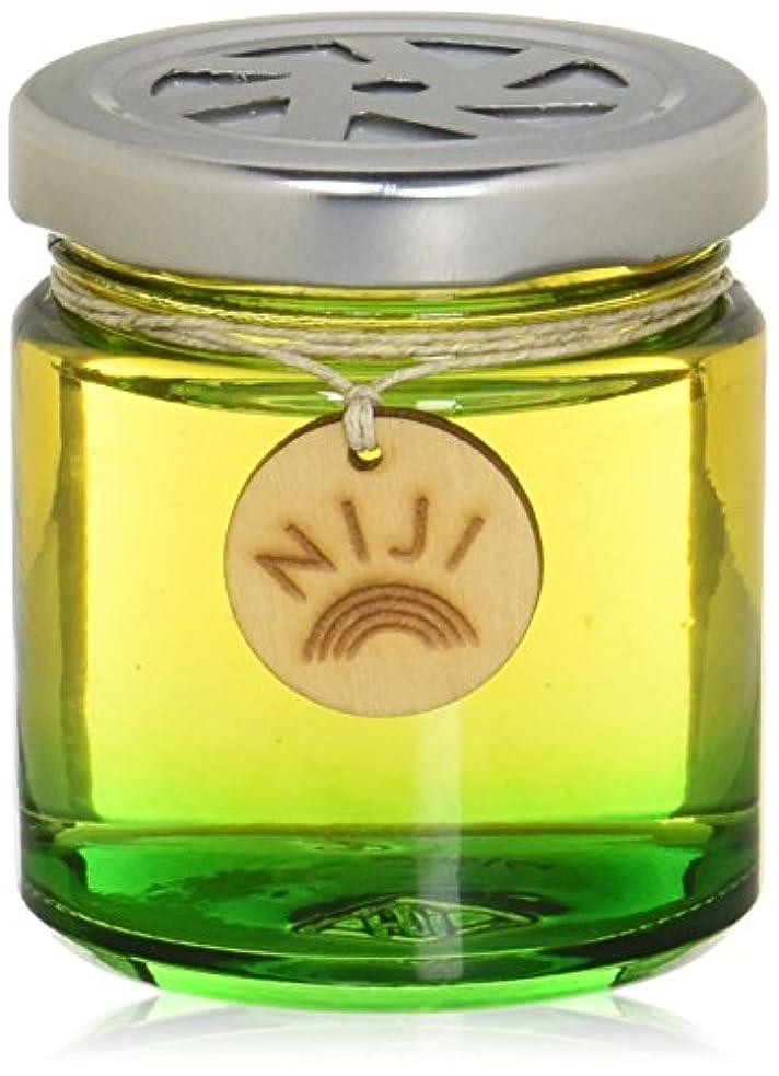 平手打ち松建設NIJI(ニジ) フレグランスゲル(芳香剤) グリーンフラッシュ 90g
