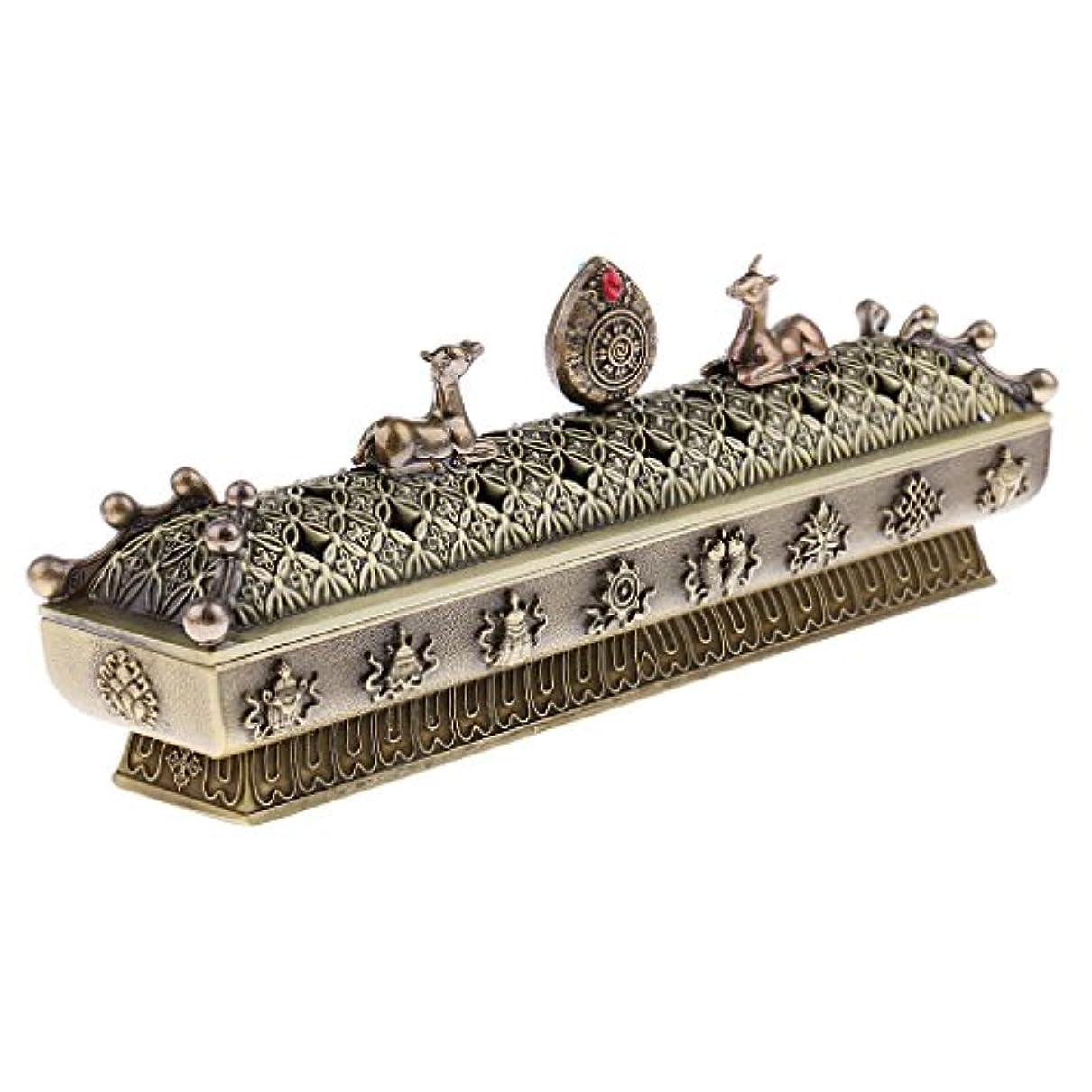負荷うなり声浸漬SONONIA 仏教 コーン 香りバーナー アッシュキャッチャー 香炉 全3色 - ブロンズ