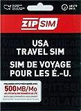 READY SIM データ通信専用500MB 14日間 アメリカ用プリペイドSIM